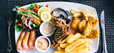 Hot & Cold Seafood Platter